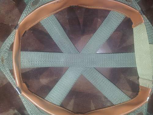 Mystery M1 Liner webbing, Early Aussie issue?
