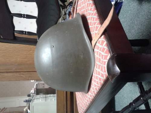 Need help to ID these Steel Helmets