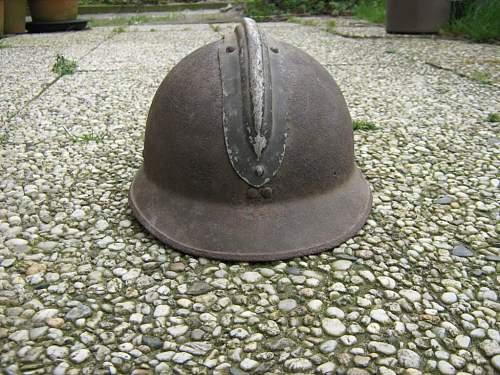 French Adrian M-26 Steel Helmet