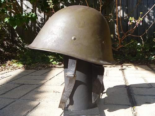 Dutch east indies helmet.