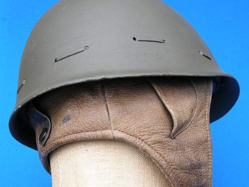 very unusual helmet on ebay?