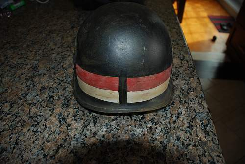 Help to identified this M1 MP helmet.