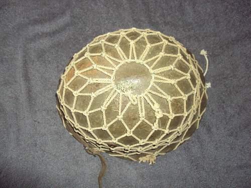 Bulgarian helmet with helmet net ???