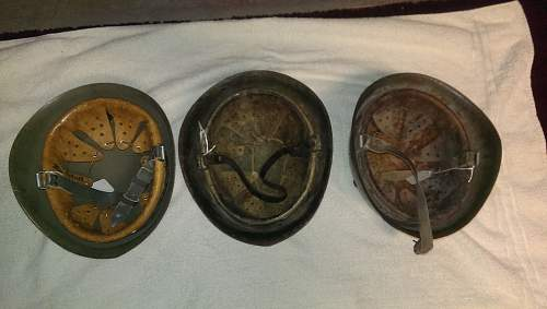 Would love some help with Italian M33 helmets