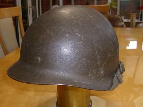 West German M60 Helmet (?)