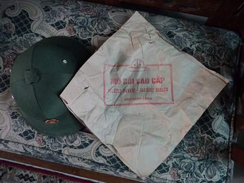 PAVN Pith Helmet - military or tourist?