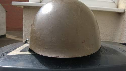 ....Spanish Civil War helmet ?? can someone please identify ...