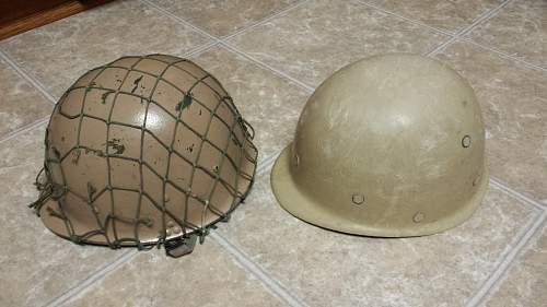 4 Iraq War Helmets