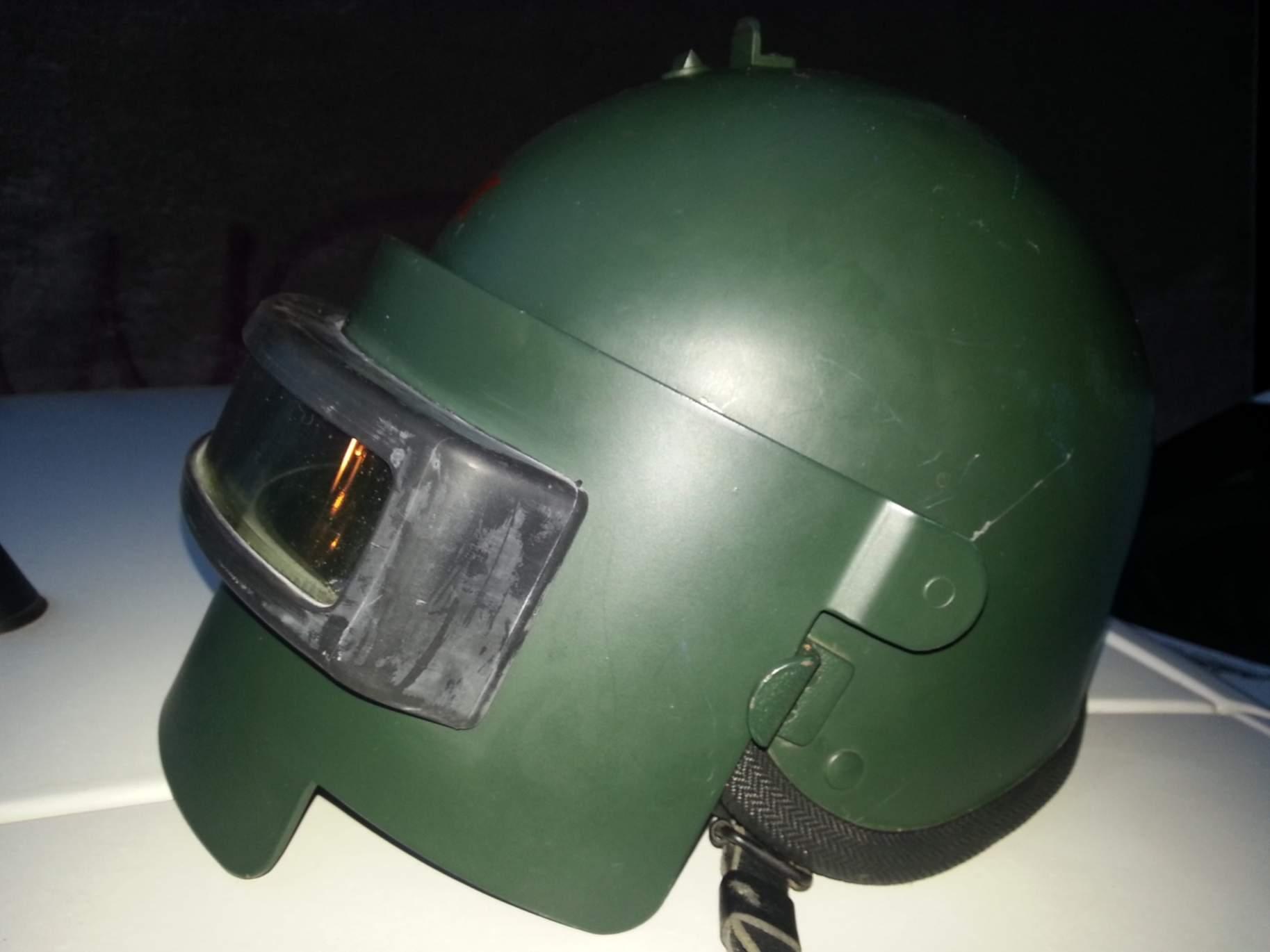 titanium assault helmet tig psh 77 originalswiss made not