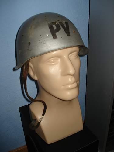 Question about a Hungarian 'Civil Defense' M50 helmet (???)