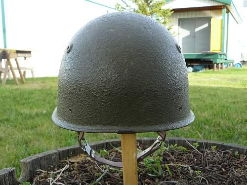 Swiss Model 71 Helmet & Alpenflage Helmet Cover