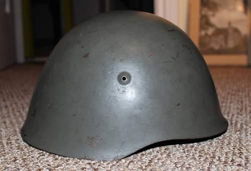 Portuguese M40 Helmet - questions