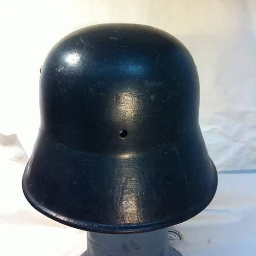 Interesting helmet I found... real?