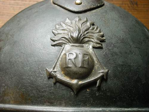 French colonial infantry M15 helmet