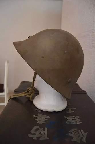ww2 japenese civil helmet?