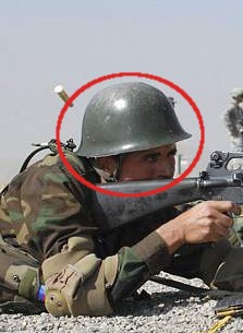 helmets in use by new Afghan army, do you recognize this helmet?