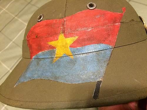 Authentic Viet Cong /NVA helmet?
