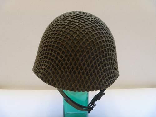 My Australian made M1 helmet