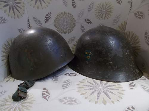 Swedish M37-65 Helmet