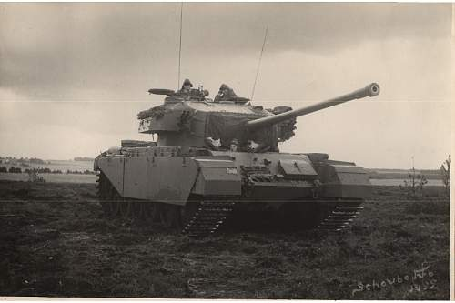 Click image for larger version.  Name:Centurion Mk. III. Kampvogn..jpg Views:203 Size:34.1 KB ID:797755