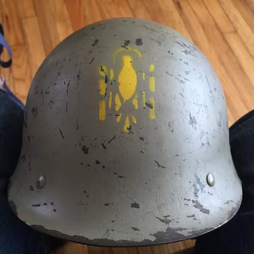 M24? Spanish Helmet - With Stencil