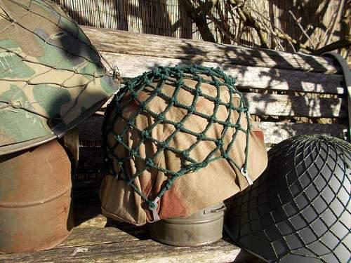 german helmet nets ,west and east
