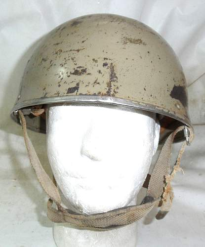 Click image for larger version.  Name:Israel Helmet Steel DR converted to HSATs MkII front - Copy - Copy.jpg Views:502 Size:210.8 KB ID:820995