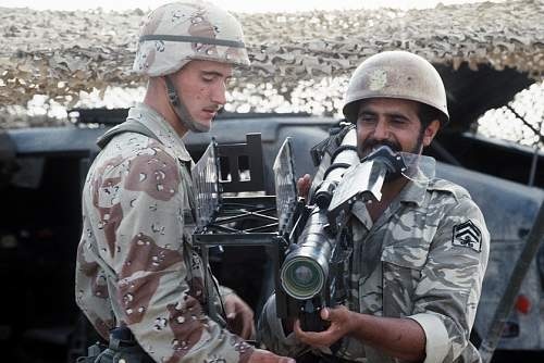Saudi Soldier wearing Royal Armored Corps MK2?