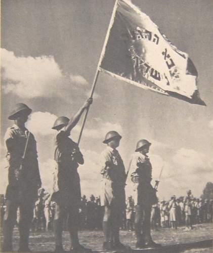 Click image for larger version.  Name:israeli_army_zahal_parade_idf_flag_1949.jpg Views:144 Size:76.2 KB ID:826386
