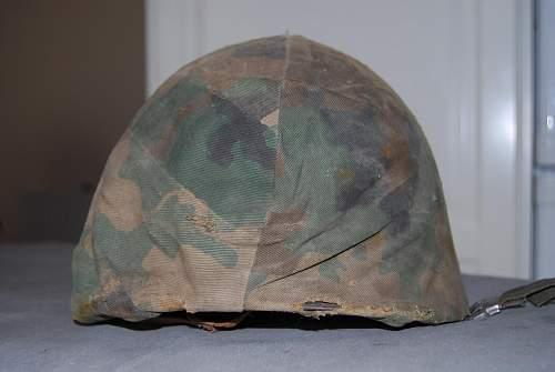 falklands argentinian helmet