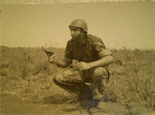 Portuguese M940/63 as used in Angolan War of Independence & Mozambique