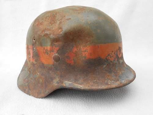 Afghan M35 or M40 helmet