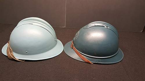 Ques Collection -- French helmets? ( post 2)