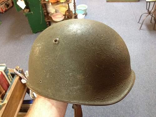 Unknown steel helmet