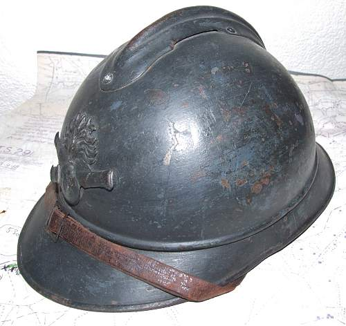 Ques Collection -- French helmets? ( post 1)