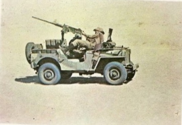 WWII SPANISH M42 used in The Rat Patrol TV show with German decals