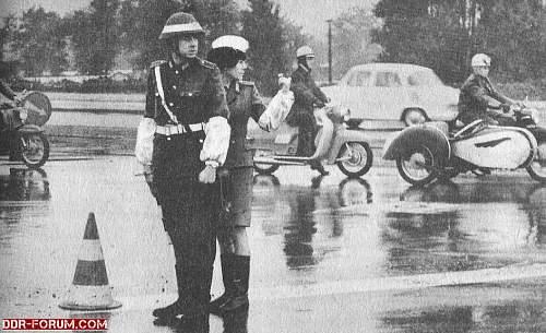 """""""R""""- marked East German Helmet"""