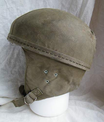 Click image for larger version.  Name:French para training helmet 1950's 5.jpg Views:293 Size:232.2 KB ID:854433