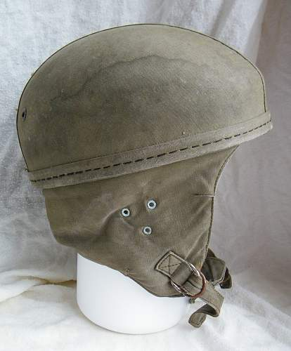 Click image for larger version.  Name:French para training helmet 1950's 6.jpg Views:168 Size:228.2 KB ID:854434