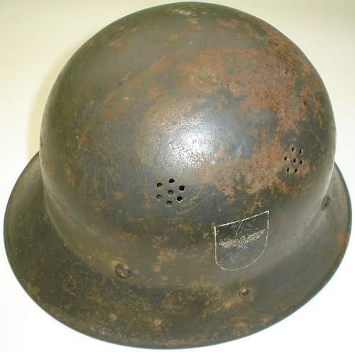 Czechoslovak vz.29 Helmet with history