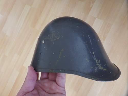 Danish 1923 Amy helmet fea market find