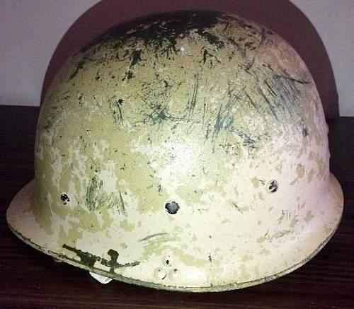 M80 Iraqi helmet