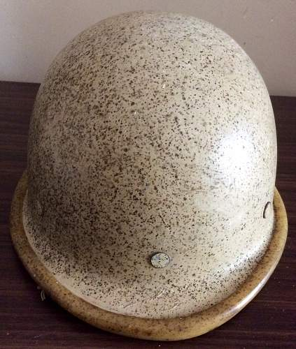 M90 Iraqi helmet unusual desert camouflage