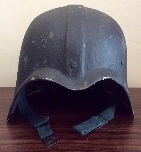 Iraqi Fedayeen Helmet Darth Vader