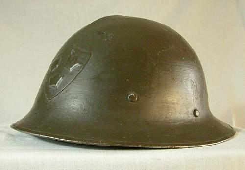 M21 Swedish helm