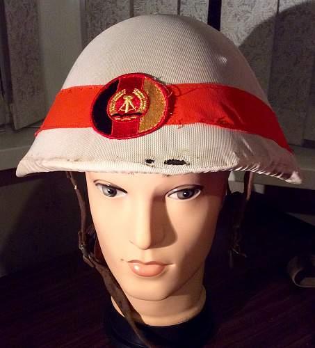 NVA DDR M56 helmet military police