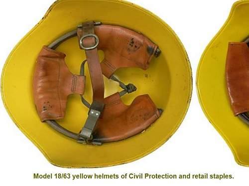 big yellow helmet