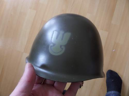 1976 dated Polish army helmet