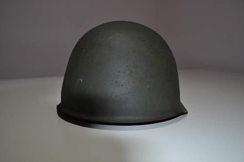Hungarian M50 helmet