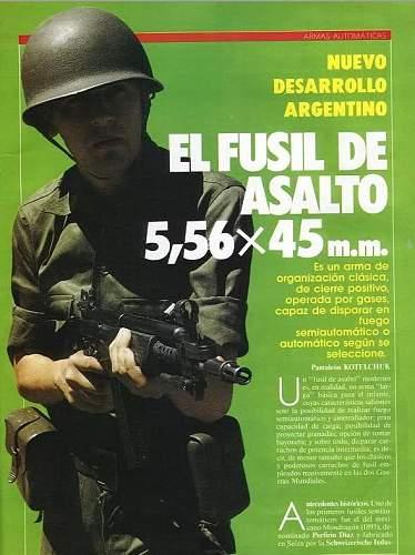 Argentinian M-1